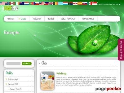 Sklep - Forever Living Products